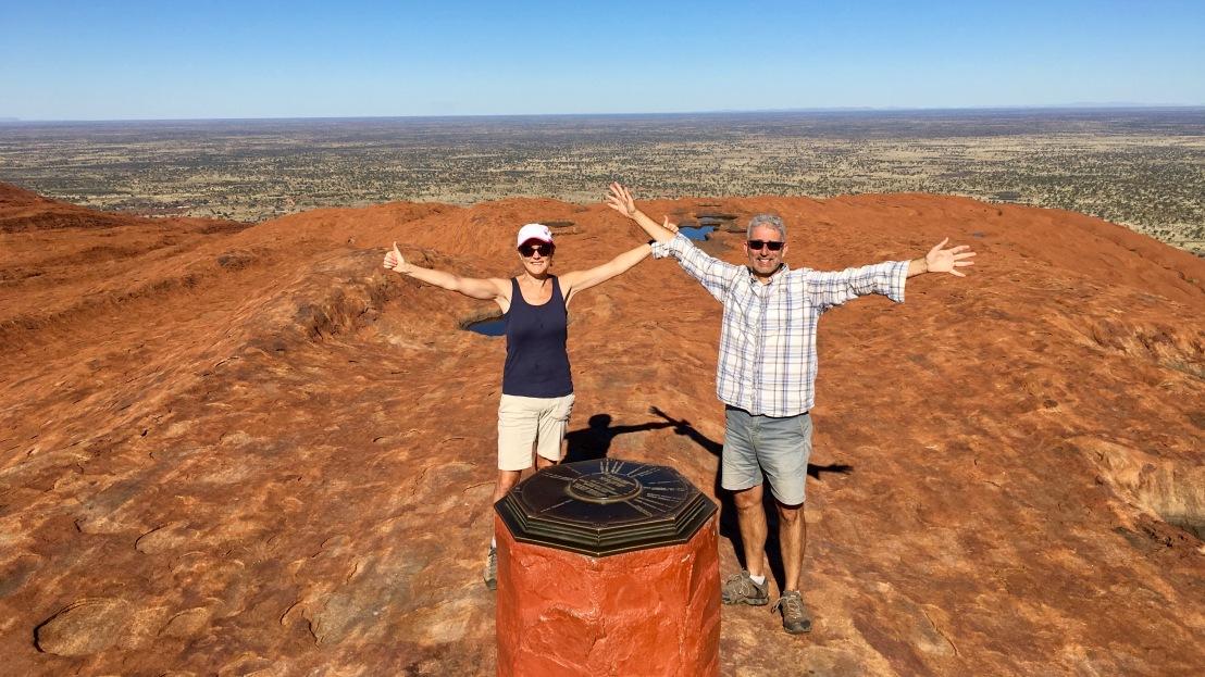 Climbing Uluru (AyersRock)